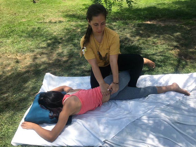 Masaje tailandés terapeutico