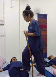 Masaje tai con los pies