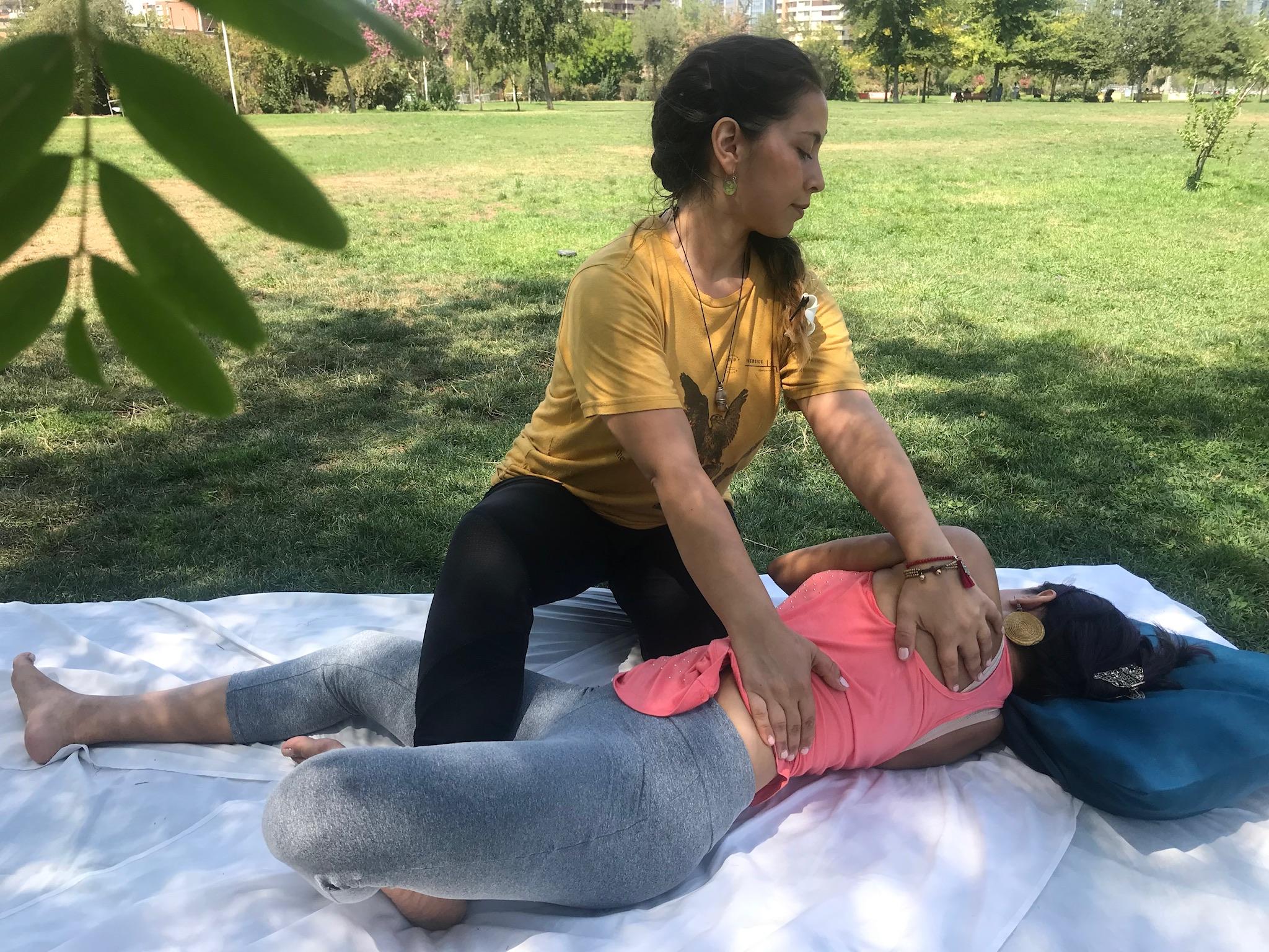 Taller de masaje tailandes